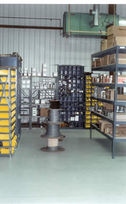 Fully Stocked Parts Warehouse